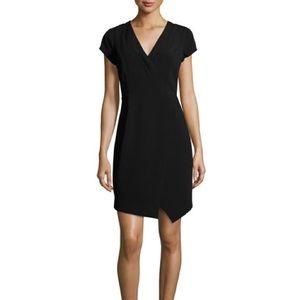 Black True Wrap Dress